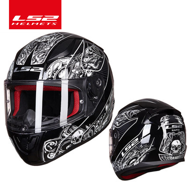 LS2 FF353 full face motorcycle helmet ABS safe structure casque moto capacete LS2 RAPID street racing helmets ECE original ls2 ff353 full face motorcycle helmet high quality abs moto casque ls2 rapid street racing helmets ece approved