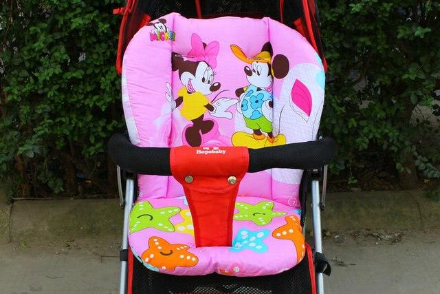 Coussin de siège de poussette de bébé | Coussin de coton pour chaise à manger, coussin général à pois, couverture de tapis épais de coton pour enfant, siège de chariot, matelas souples