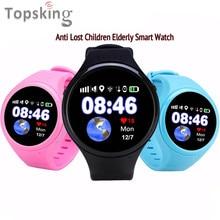 Gps wifi agps lbs слежения дети старый t88 дети smart watch шагомер sos g-sensor часы для ios android 1.22 «сенсорный Экран