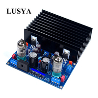 Lusya 6j1 Tube Amplifier Reference X 10D LM1875 hifi 2.0 channel Digital power amplifier board 20W+20W With heatsink T0168