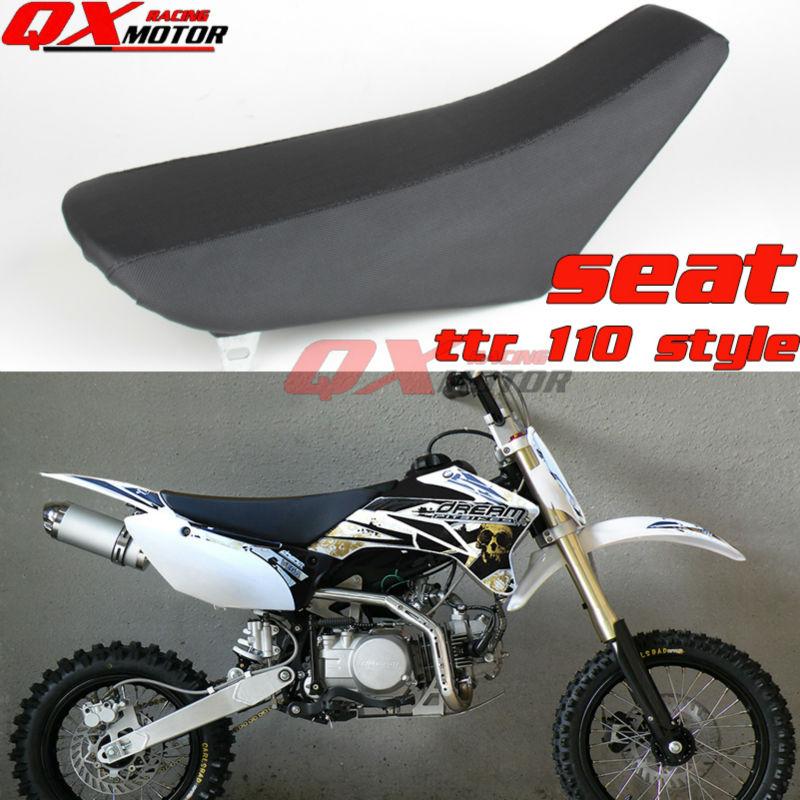 Black Pit Bike Seat Dirt Bike Seat For TTR110 ttr 110 Style Chinese KAYO BSE Apollo OEM SSR SDG GPX CRZ 125cc 140cc 150cc 160cc