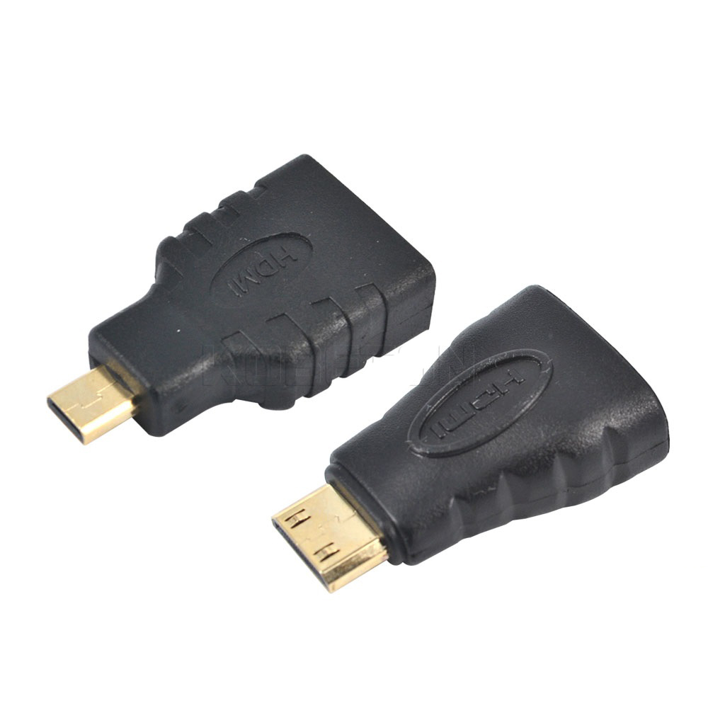 Hdmi To Micro Hdmi Hdmi To Mini Converter Gold Plated Hd
