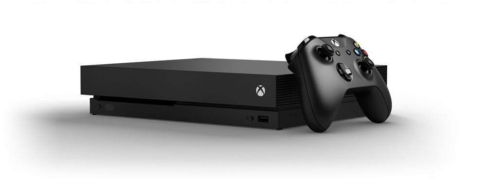 Microsoft xbox one X MÉTRO L'EXODE DANS