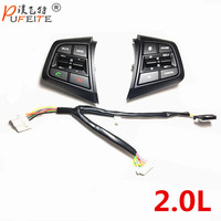 100 Original Steering Wheel Button For Hyundai Ix25 Creta 2 0 Cruise Control Buttons Remote Control