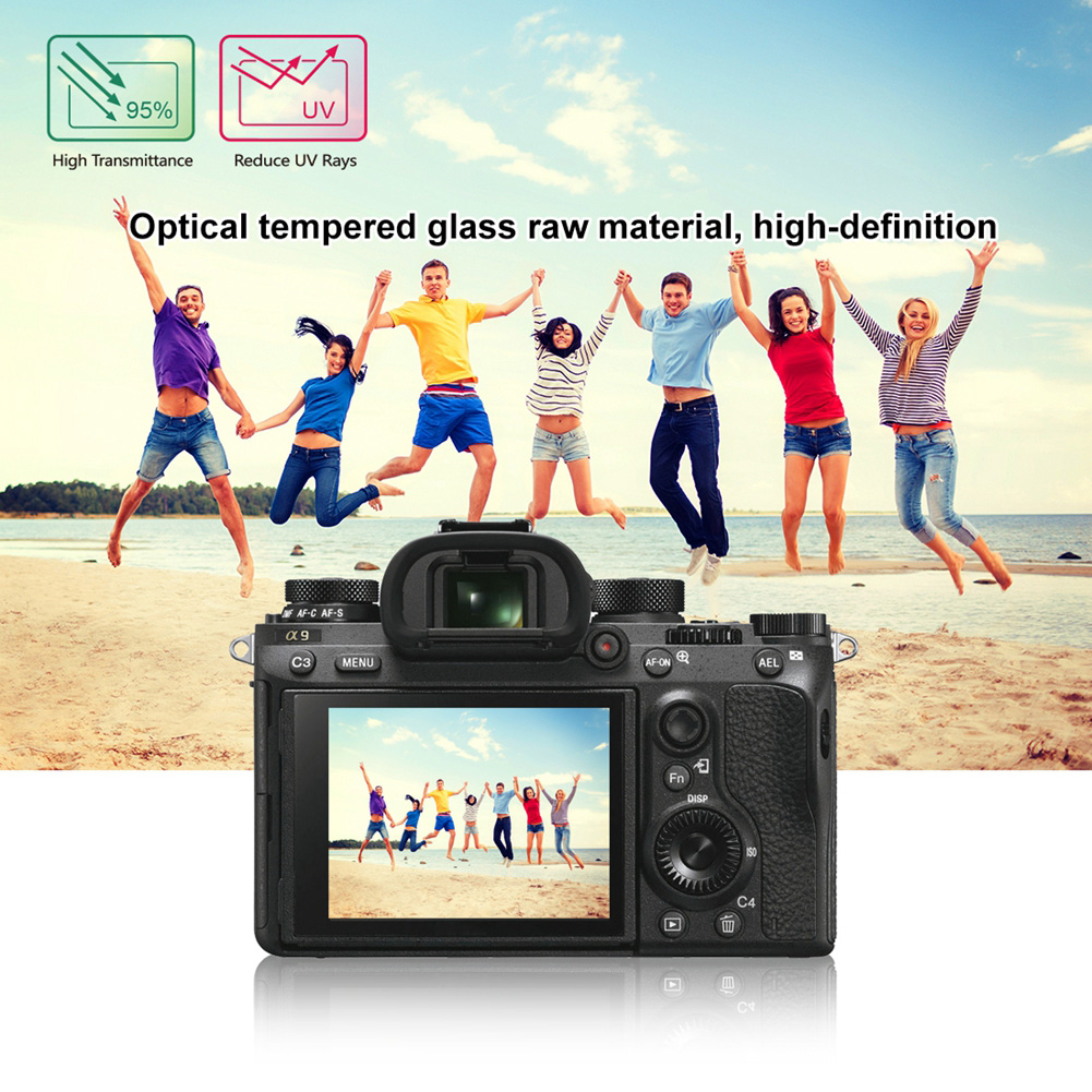 YCDCFor Sony ILCE-9/A6000/RX100 Camera Screen Protector LCD Guard Film 2.5d curved edge film /Tempered Glass Screen Protctor