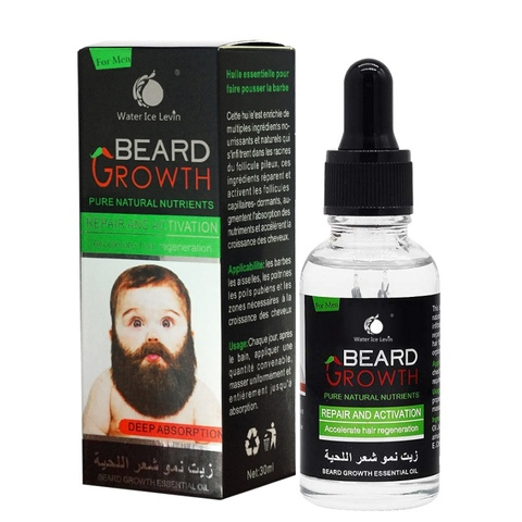 Professional Men Beard Growth Serum Nourishing Beard Anti-Dandruff Anti-Static Plant Nutrients Beard Growth Liquid Wholesale Pakistan