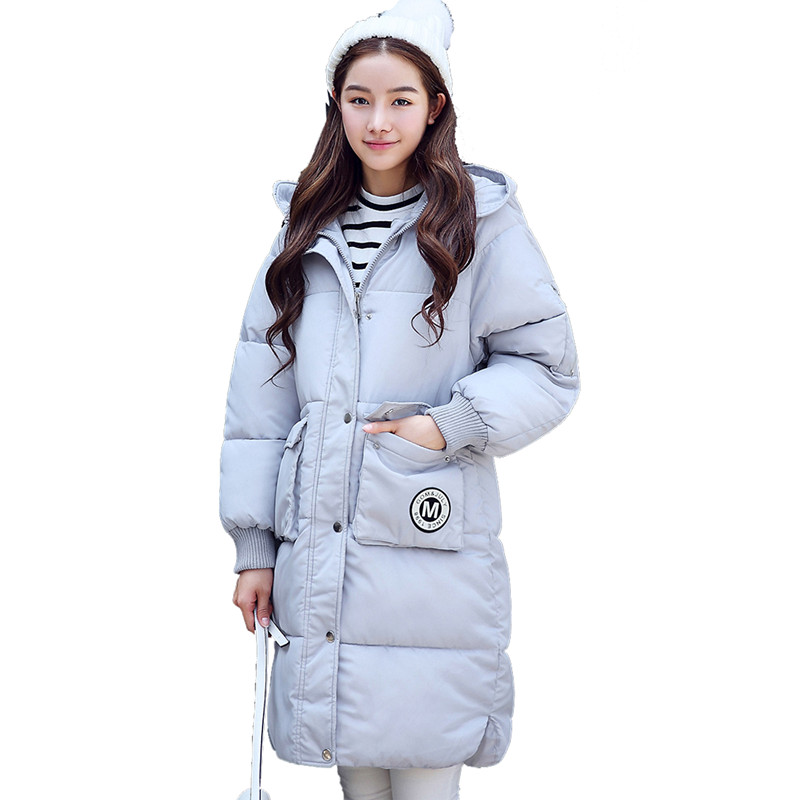 Military Jackets Thick Winter Jacket Women Long Coat Parka Hooded Chaquetas Mujer Wadded Cotton Winter Coat Parkas Outwear C3452 maxi coats winter jacket women hooded letter bread cotton coat thick long parka abrigo mujer wadded padded jackets outwear