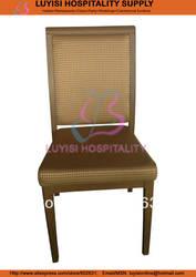 Горячие продажи stackable имитация дерева Алюминий стул