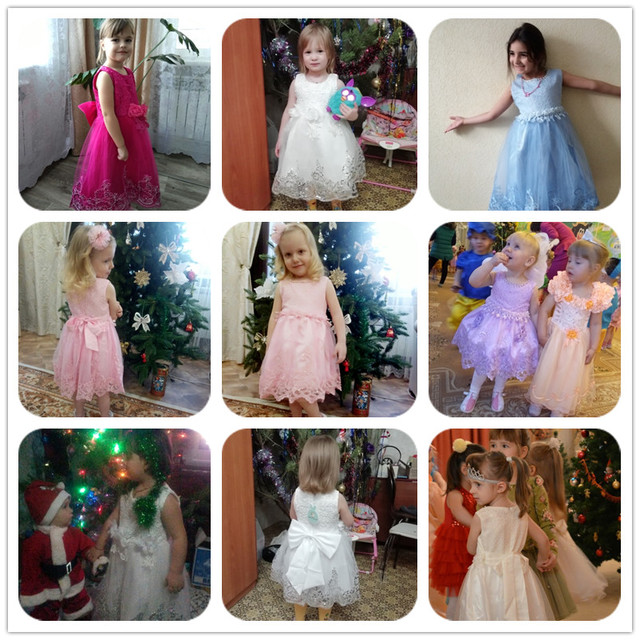 Girls Dress Elegant Princess Dress Kids Dresses For Girls Costume Children Party Dress Wedding Gown 8 9 10 Year vestido infantil