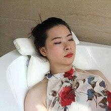 SPA Bath Pillow Suction Cups Massage Supports Neck Shoulders Bathtub Hot Sale
