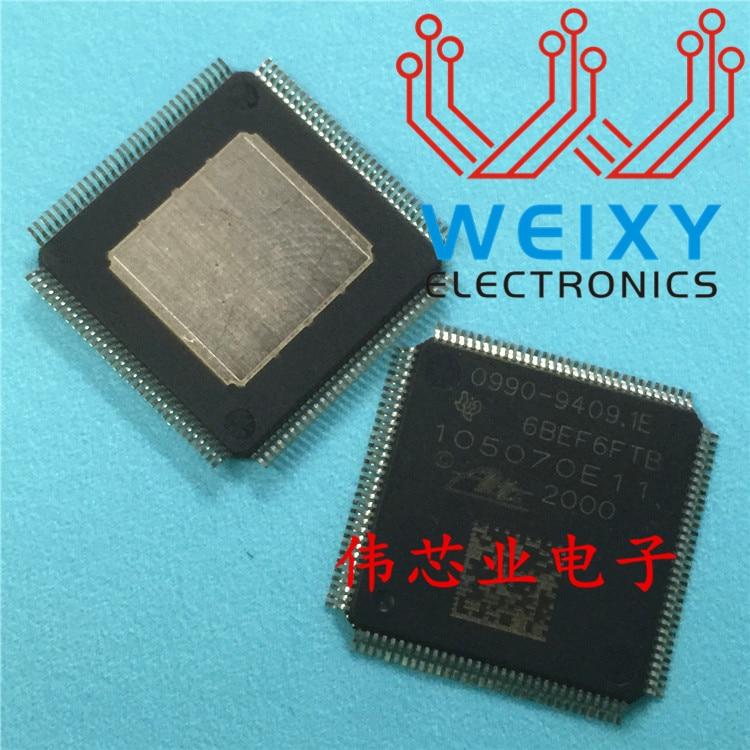 New 5PCS LOT 0990 9409 1E 105070E11 74C12YTBG4 TQFP100 Automobile ABS Computer Vulnerable Driver Chip