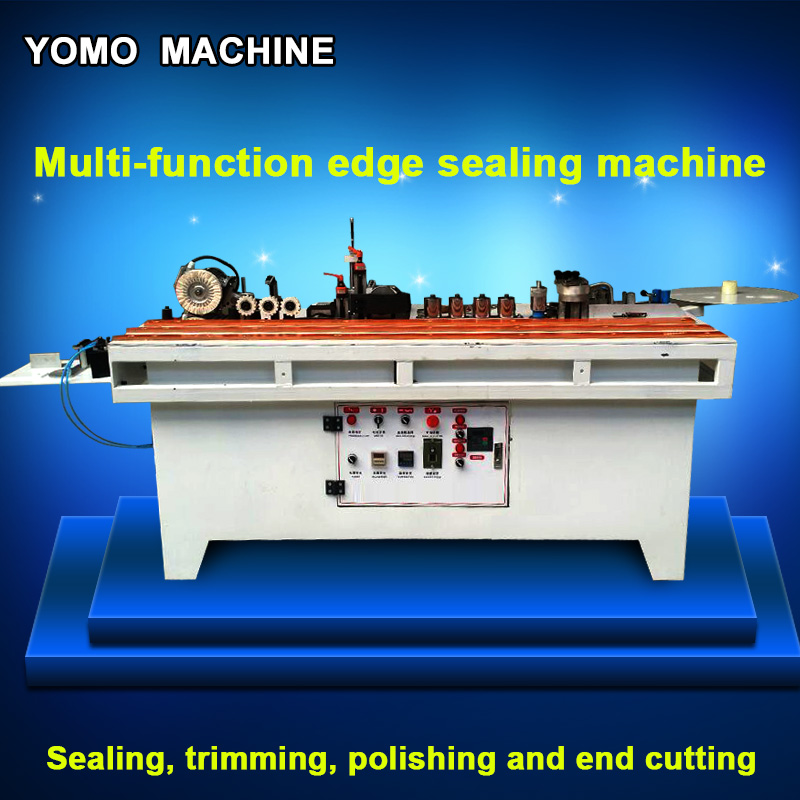 MY-10 Automatic edge Sealing wood edge banding Machine, trimming, polishing and end cutting cutting edge cabinetmaking