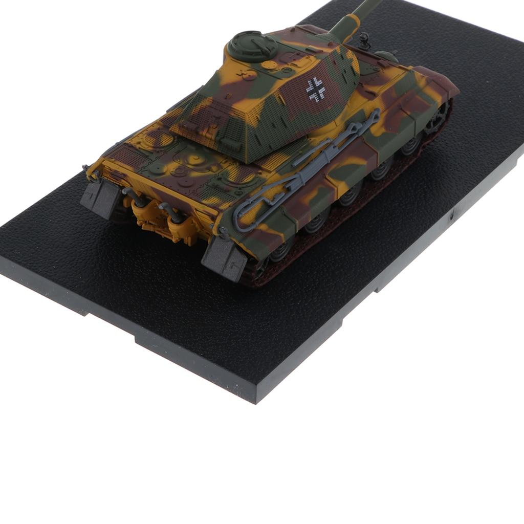 1:72 WWII German Tiger II-Wallonia 1944 Tank Army Model Toy Xmas Gift