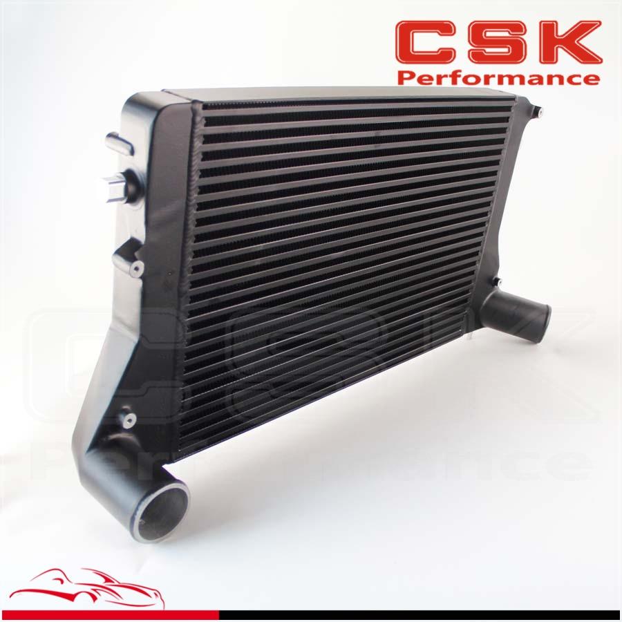 Turbo Intercooler For VW GTI Jetta mk5 mk6 /Audi A3 fsi tsi 2.0t Gen2 06-10 Black silicone radiator coolant hose for vw golf mk6 gti 2 0 turbo tsi ccza 08 15