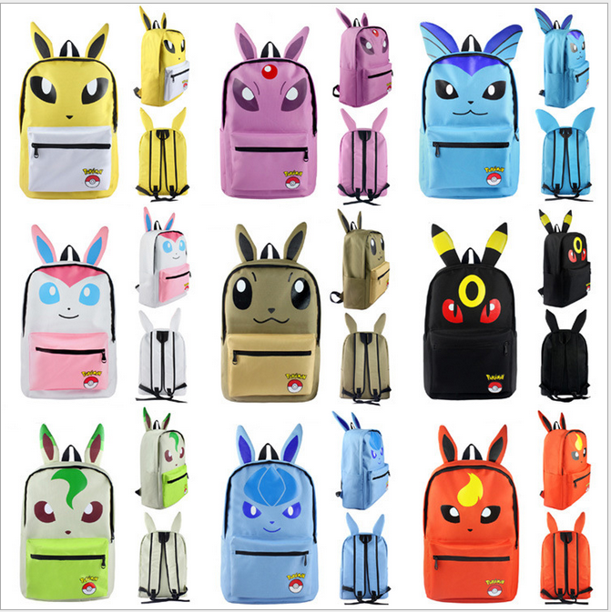 Costume Props Novelty & Special Use Brave Anime Pokemon Pikachu Backpack Pocket Monster Cosplay Kawaii Shoulder Bag Children Plush Backpack