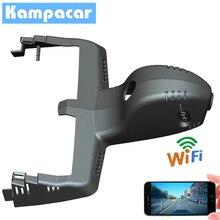 Kampacar Auto Dash Cam Mini Auto Dvr Con Due Telecamere Per BMW X3 X4 2018 2019 xDrive25i xDrive30i Wifi Auto DVR 2 Video Recorder