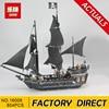 Lepin 16006 804pcs Pirates Of The Caribbean Black Pearl Dead Ship Model Builidng Blocks Children Toys