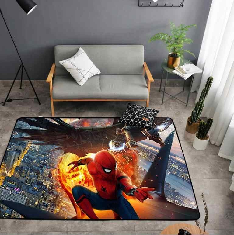 Американский ковер Бэтмен Супермен Печатный Мягкий коврик против скольжения коврик супергерой компьютерный стул коврик для дома детская комната