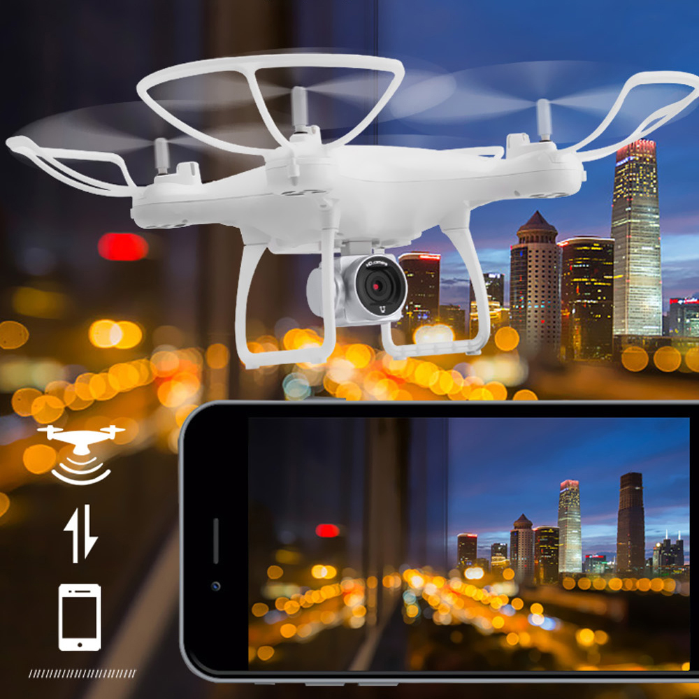New Utoghter 69601 RC Drone With Camera WiFi FPV 1MP Rc Quadcopter Headless Mode Dron Altitude Hold One-Key Return Rc Helicopter jjrc h12wh wifi fpv with 2mp camera headless mode air press altitude hold rc quadcopter rtf 2 4ghz
