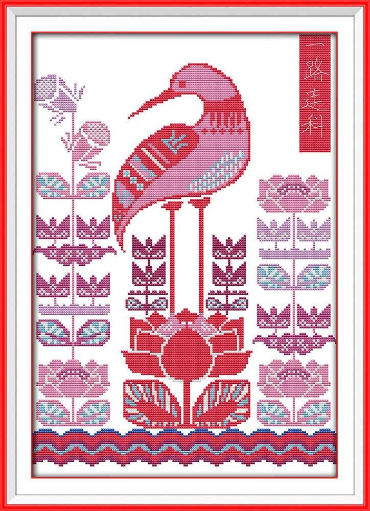 Wall Decor Cross Stitch : Chinese style pattern wall decor needlework stitch diy