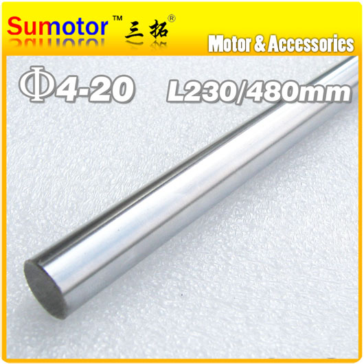 D10 L480 Diameter 10mm Length 480mm 45# Steel shaft Toy axle transmission rod  DIY axis Chrome Plated axis for CNC XYZ диски helo he844 chrome plated r20