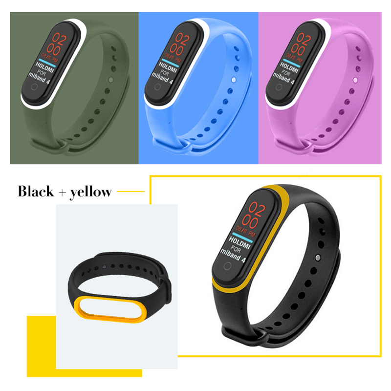 Soft-Strap Mi-Band 4-Bracelet Xiaomi Multicolor for Not Strengthen 3