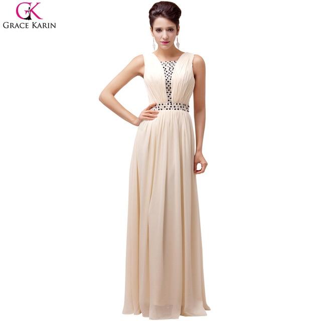 60c95dd141d0 Grace Karin Women Long Evening Dresses A-line Summer Formal Party Dress  Evening Gowns Wedding