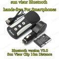 mini car-styling Bluetooth MP3 Player sun visor fine clip hands-free intercom system with Bluetooth V3.0