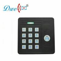 DWE CC RF RFID card reader  125khz emid wiegand 26  blue backlight waterproof  keypad reader for access control system 002J|rfid card reader|rfid card reader 125khz|125khz reader -