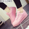 Wikileaks Hot 2016 New Autumn Fashion Women Flat Stan High Muffin Shoes Woman Breathable Casual Skate Shoes Student Cheap Shoes