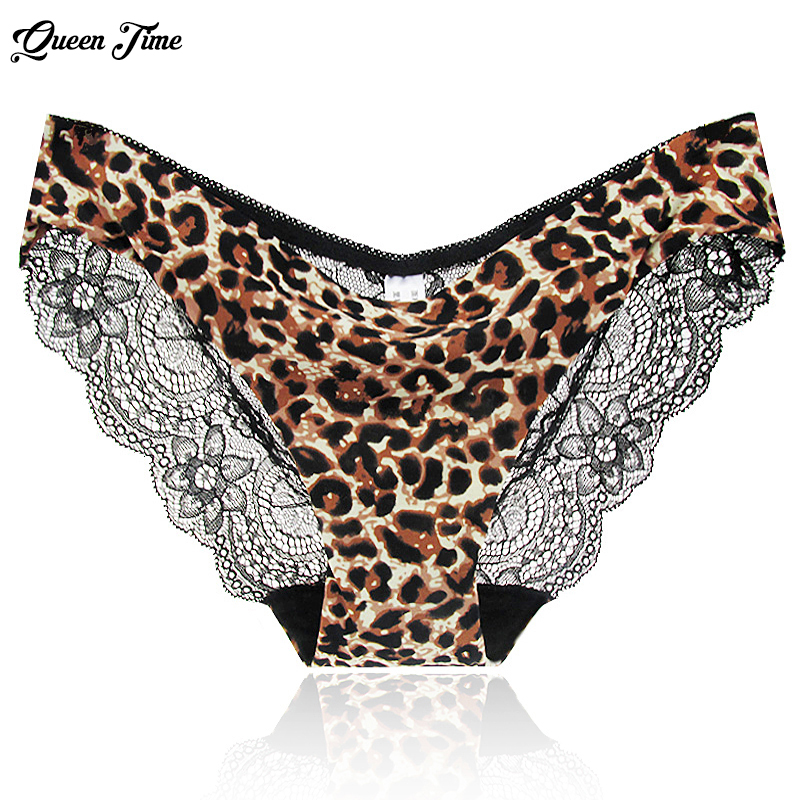 Hot sale! l women's sexy lace   panties   seamless cotton breathable   panty   Hollow briefs Plus Size girl underwear S-2XL Dropship