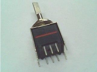 "2PCS/LOT OTAX band switch 7 shaft length 21MM ""fine axis diameter 4MM"""