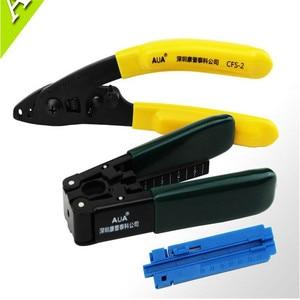 Image 1 - FTTH kits de herramientas de fibra óptica, pelado de fibra de alambre cubierto + herramienta de pelado de fibra óptica + Pista de longitud fija 3 en 1