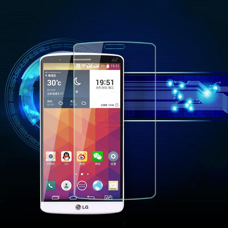 0.26mm Screen Protection Tempered Glass Film For LG G6 G5 G2 G3 G4 Screen Protector G3 G4 mini G3 s beat G4c Cover 9H Hardness