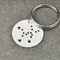 Taurus  Constellation keychain,Taurus Sign Birthday Gift, Horoscope keychain, Astrology Jewelry,Zodiac keychain