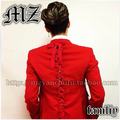 New brand models male singer with the right DJ Chi Long GD big red bow tying Men's singer suit jacket costumes clothing / S-5XL