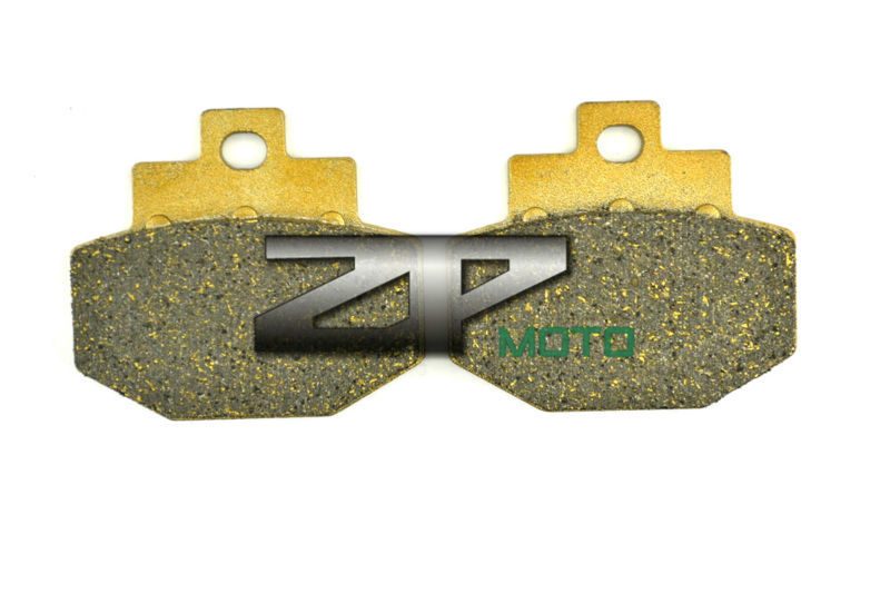 NAO Brake Pads For VESPA GTS 300 Super 2010-2014 GTV 250 2007-2009 Rear OEM New High Quality nao for all we know neon yellow