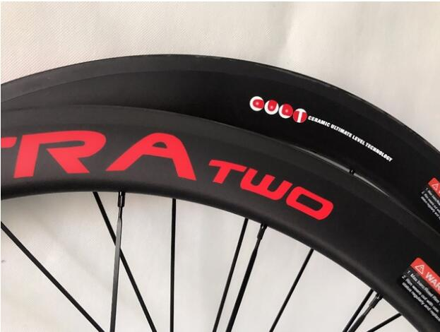 2018 Top selling 50mm carbon road wheels 23mm wide bike carbon wheelset basalt braking surface carbon wheels 700c clincher wheel