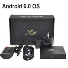 Nouveau X96 Android 6.0 TV Box Amlogic S905X Quad Core 2 GB/16 GB 1 GB/8 GB Kodi 16.1 WIFI HDMI 2.0A 4 K * 2 K Smart Media Player Miracast
