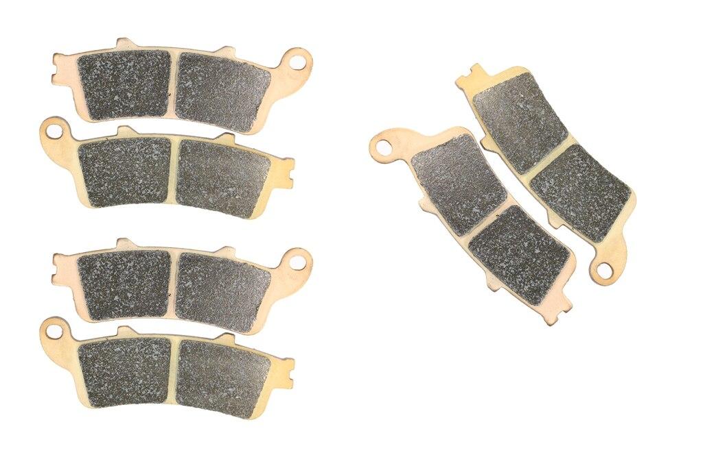 Brake Pad set fit HONDA VTX1800 VTX 1800 C2-C4 C15 C16 C17 2002 2003 2004 2005 2006 2007 2008 2009 2010 2011 2012 2013 2014 2015 sintered brake pad set for honda 1000 xl a4 va4 9 varadero xl1000 2004 2005 2006 2007 2008 2009 2010 2011