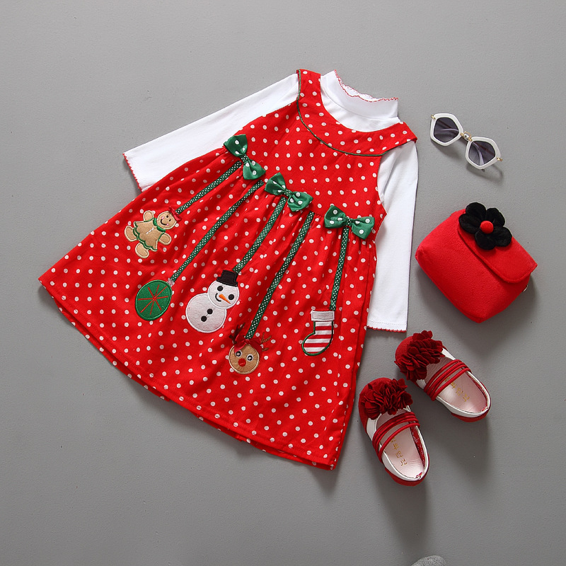 955b2f1fbe568 New Year Children Winter Christmas Costumes Baby Clothes Sets Kids Suit Baby  Girls Coat+Dress Baby Boys Coat+Pants New 2PCS-in Dresses from Mother & Kids