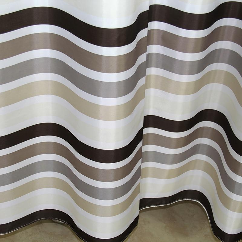 Hoogwaardige Polyester doek douchegordijn pak waterdicht en dikke ...