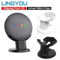 Od nas 100% oryginalny Google Home Mini do montażu na stojaku asystentów głosowych kompaktowy uchwyt kuchnia sypialnia badania Audio uchwyt na acesorios