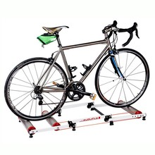 Indoor Bike Trainer Station Road Bicycle Exercise Fitness Station MTB Bike Trainer Roller Training Tool 3 Stage Folding