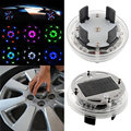 4 Mode 12 LED Fashion Attractive Car Solar Power Saving Flash Color Wheel Light Decor Lamp Decoration NEW