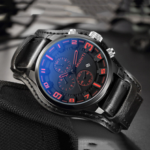 Military Watch Men Sports Quartz Watch Men Watches Top Brand Luxury Leather Casual Wrist Watch Date Clock Male relogio masculino цена и фото