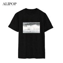 ALIPOP Kpop BTS Bangtan Boys Signings JUNGKOOK Album Shirts K-POP Cotton Clothes Tshirt T Shirt Short Sleeve Tops T-shirt DX420