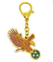 Feng Shui Águila Roja Llavero para Pendenciero Estrella W W2360 Fengshuisale Pulsera de Hilo Rojo