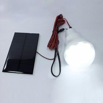 luz Solar panel 12 LED bulb LED Solar Lamp Solar Power Light Outdoor Solar Lamp Spotlight Garden  Portable Light 5
