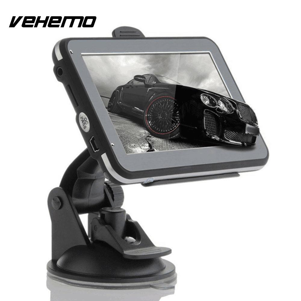 Vehemo Vehicle GPS Navigator GPS Navigator Car Navigator MP4 4.3 Inches Portable Digital Map Photography Electronics цена
